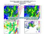 pr cipitations cumul es entre le 08 09 2005 06utc et le 09 09 2005 06utc t0 6 t0 30 cumul 24h mm