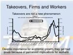takeovers firms and workers