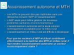 assainissement autonome et mth