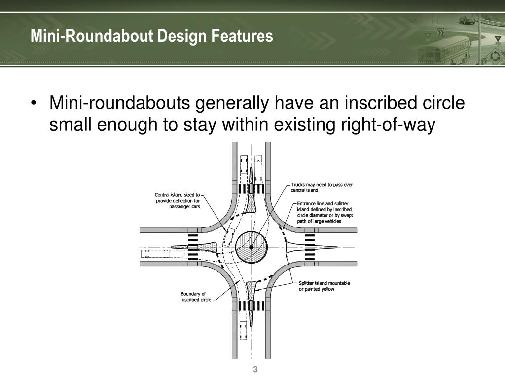 Ppt Mini Roundabouts Powerpoint Presentation Free Download Id 714827