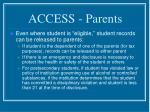 access parents8
