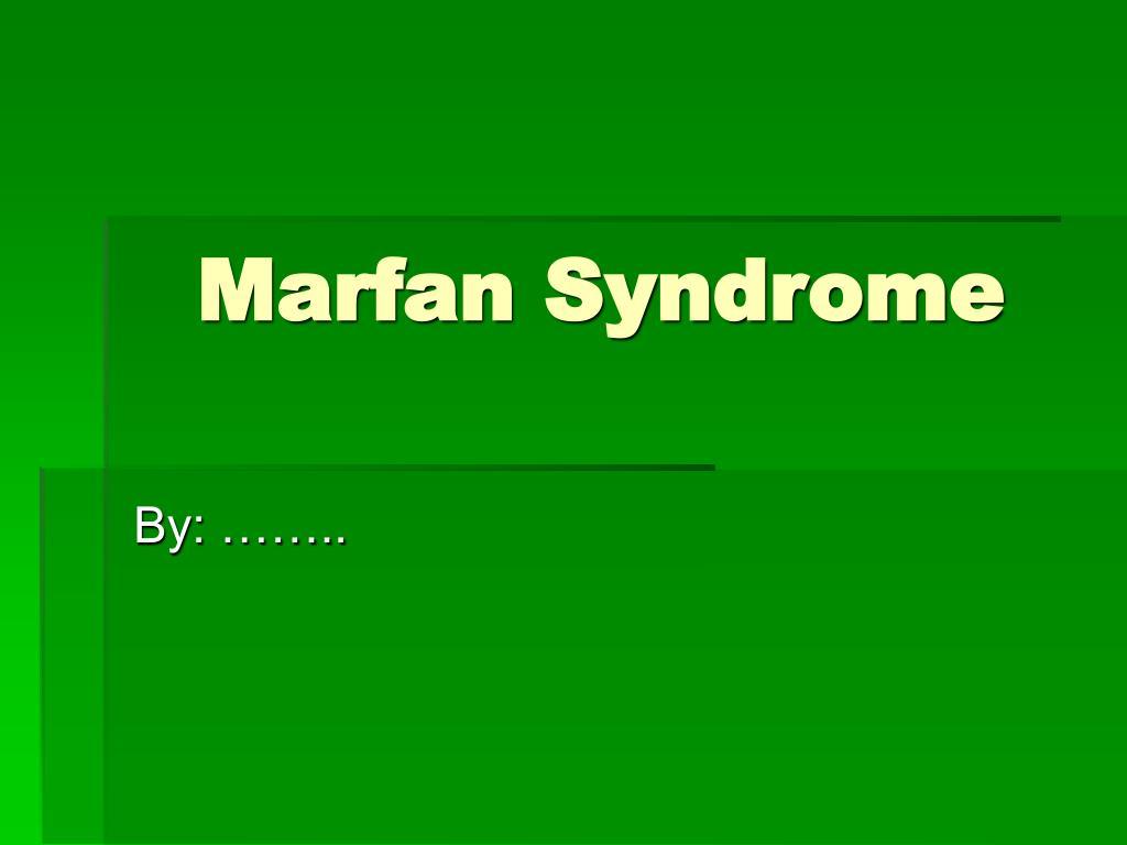 marfan syndrome l.