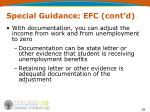 special guidance efc cont d28