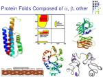 protein folds composed of other