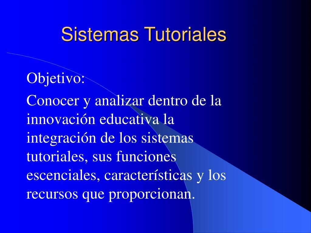 sistemas tutoriales l.