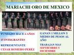 mariachi oro de mexico