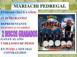 mariachi pedregal