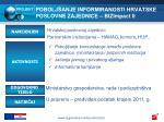 pobolj anje informiranosti hrvatske poslovne zajednice bizimpact ii