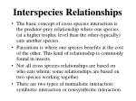 interspecies relationships