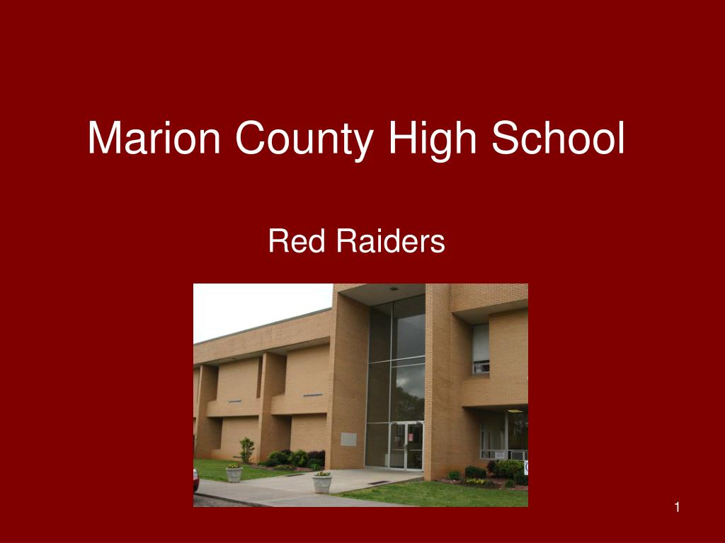 marion county high school l.