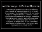 aspetti e compiti del sistema operativo5