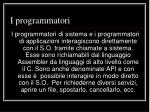 i programmatori