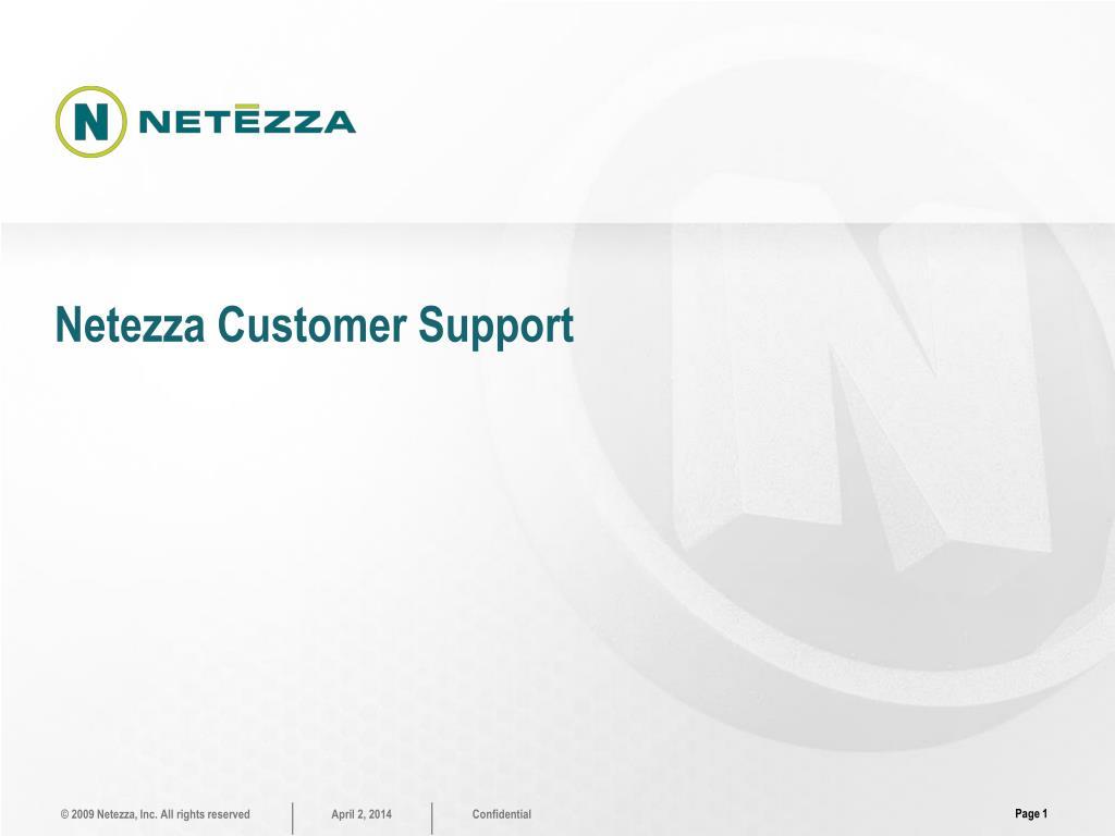 netezza customer support l.