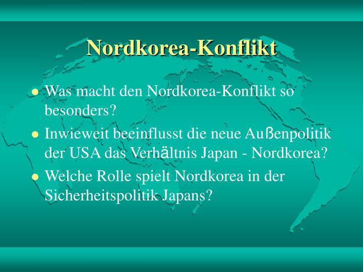 Nordkorea konflikt2