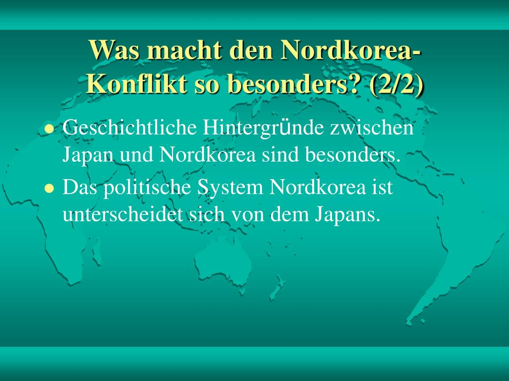 Was macht den Nordkorea-Konflikt so besonders? (2/2)
