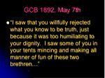 gcb 1892 may 7th16