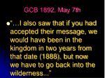 gcb 1892 may 7th17