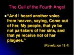 the call of the fourth angel