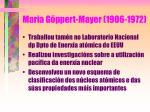maria g ppert mayer 1906 197240