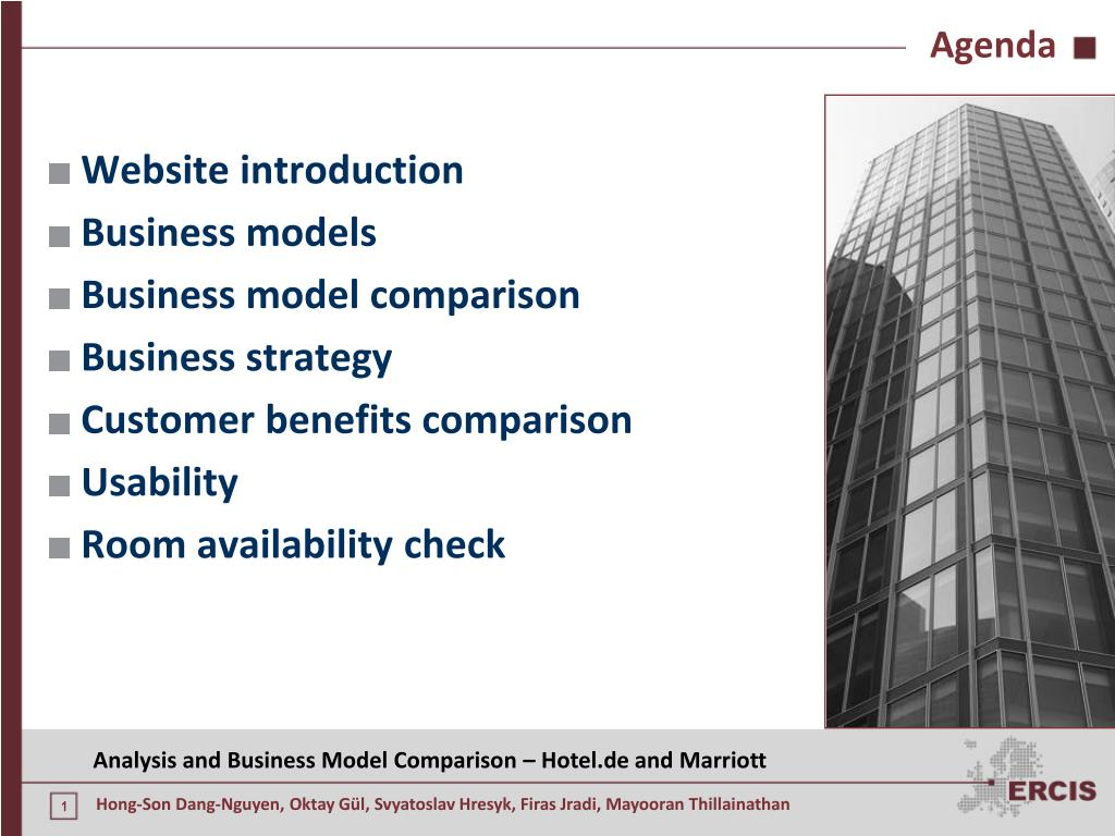 PPT - Analysis and Comparison of Online Business Models