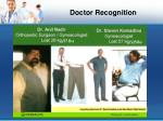 doctor recognition