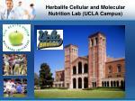 herbalife cellular and molecular nutrition lab ucla campus