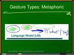 gesture types metaphoric
