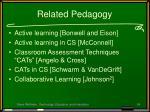 related pedagogy