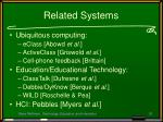 related systems