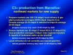 c3 production from marcellus northeast markets for new supply