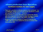 ethane production from marcellus northeast markets for new supply