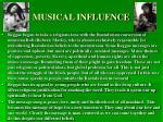 musical influence