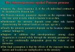 the inhomogeneous spatial poisson process