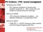 ipc evidence pvd wound management12
