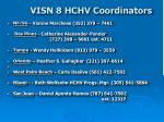 visn 8 hchv coordinators