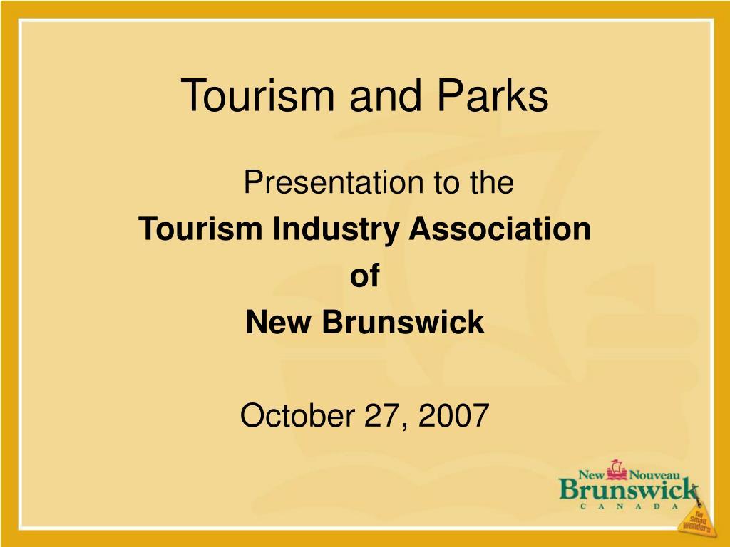 tourism and parks l.