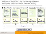 nouvelles exigences de capitaux propres et nouvelles approches des risques suite6