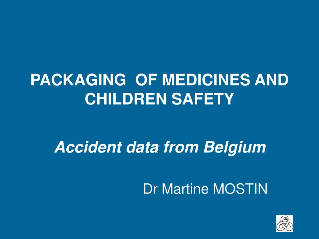packaging of medicines and children safety l.