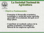 la sociedad nacional de agricultura14