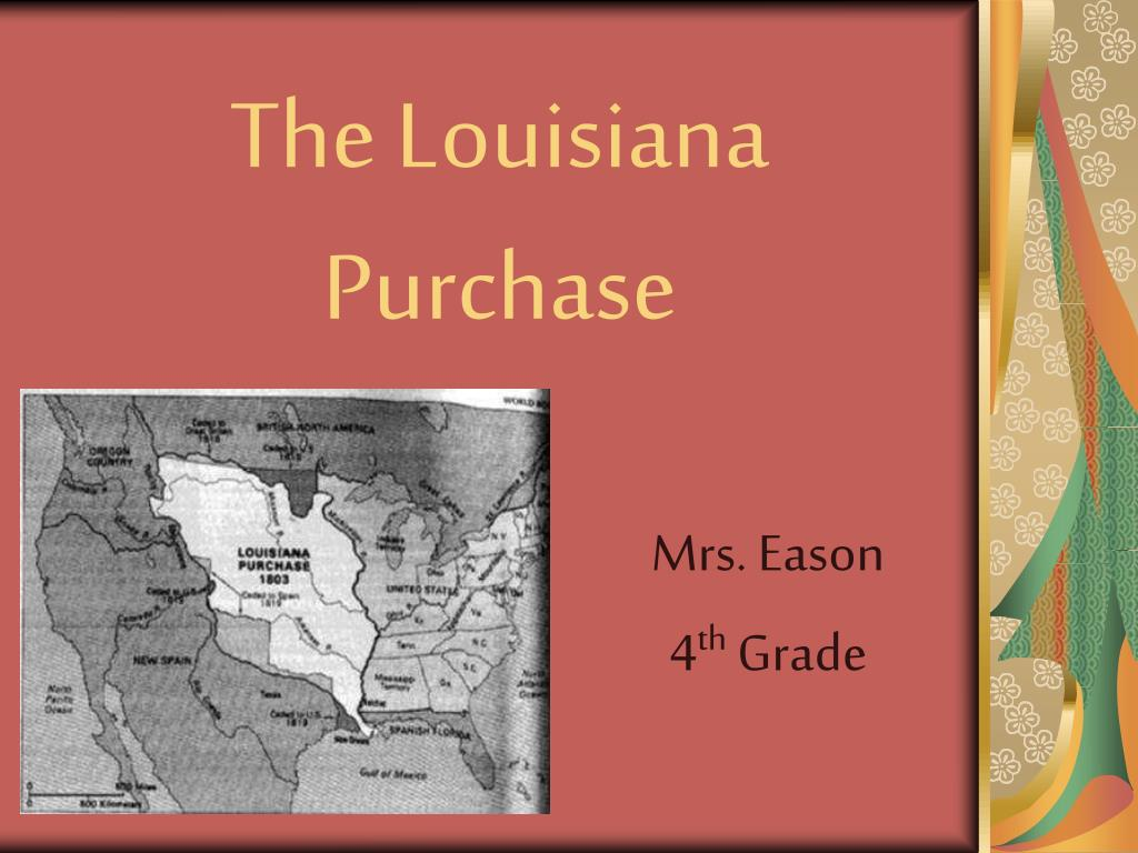 the louisiana purchase l.