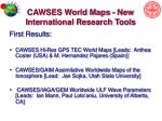 cawses world maps new international research tools