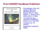first cawses handbook published
