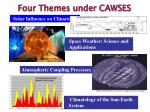 four themes under cawses