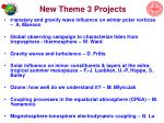 new theme 3 projects