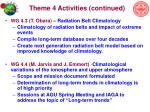 theme 4 activities continued
