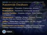 nationwide databases