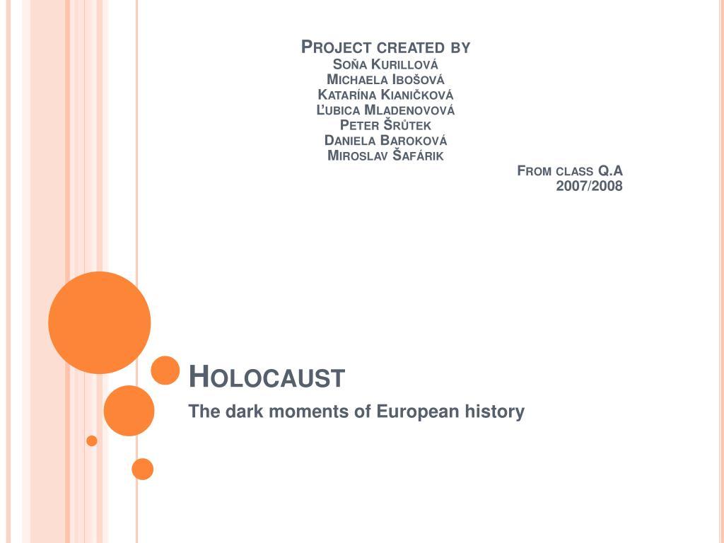 holocaust l.