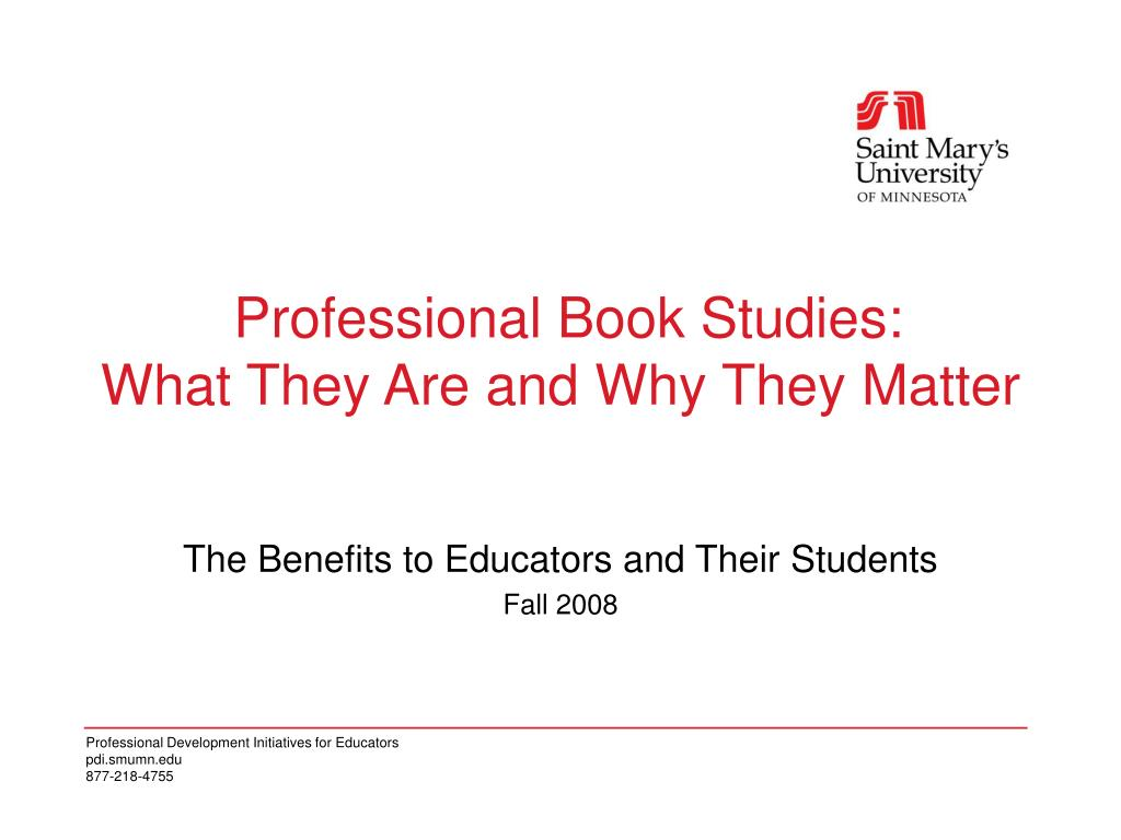 professional book studies what they are and why they matter l.