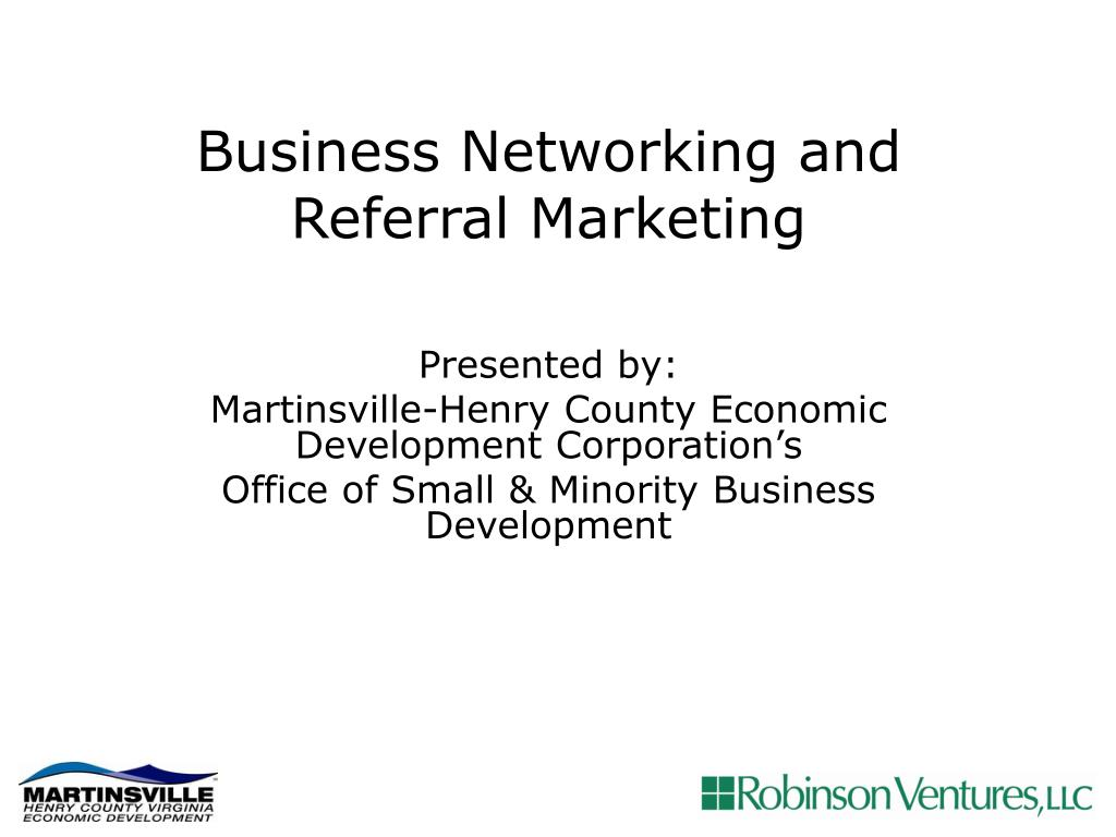 business networking and referral marketing l.