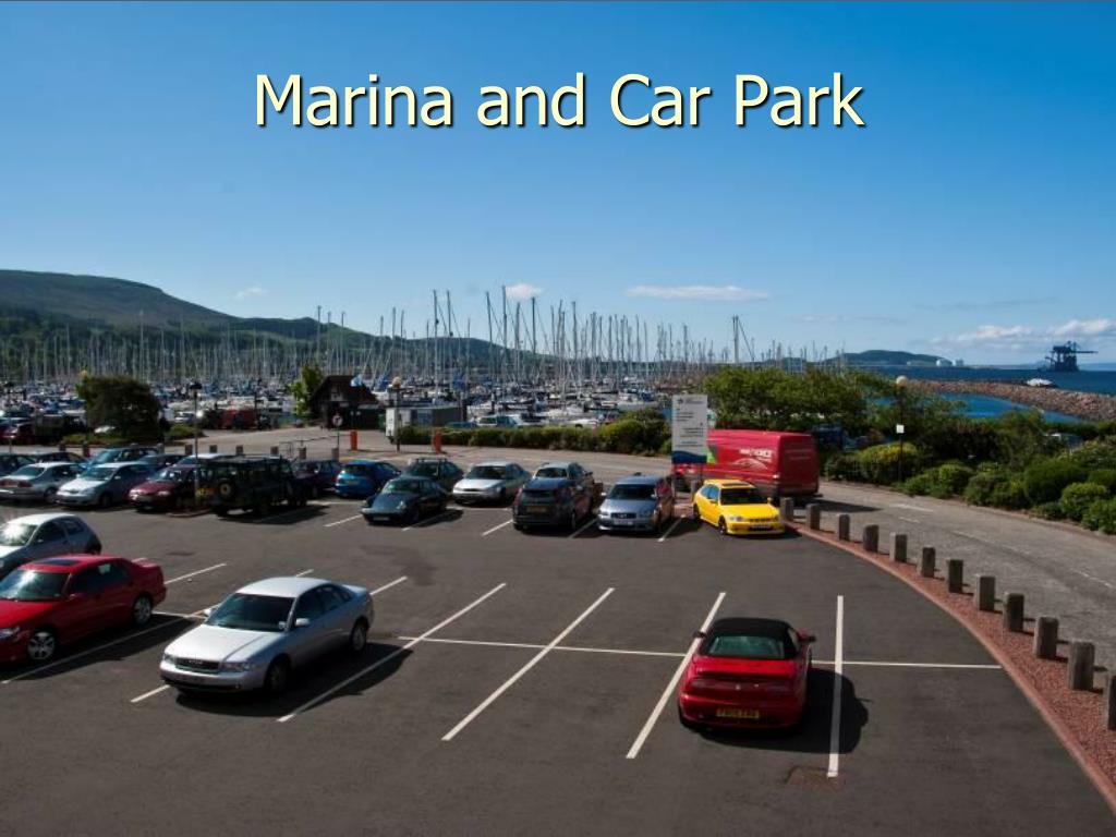 Marina and Car Park